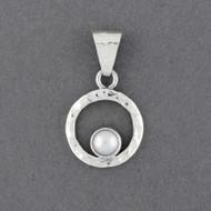 Pearl in Frame Pendant