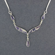 Wampum Teardrops Necklace