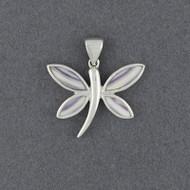 Wampum Dragonfly Pendant