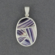 Wampum Mosaic Pendant