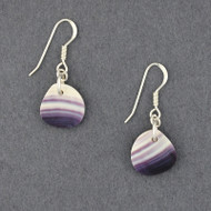 Wampum Small Free Form Earrings