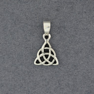 Sterling Silver Triquetra Pendant
