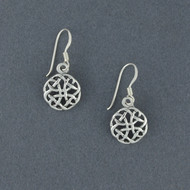 Sterling Silver Dara Knot Earrings