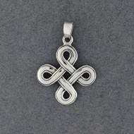 Sterling Silver Dara Knot Pendant