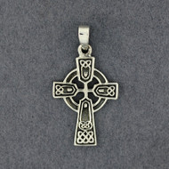 Sterling Silver Medium Celtic Cross Pendant