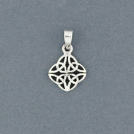 Sterling Silver Celtic Shield Pendant