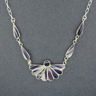 Wampum Fan Necklace