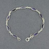 Wampum Novette Link Bracelet