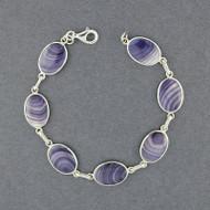 Wampum Oval Link Bracelet