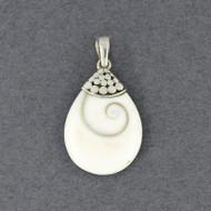 Shiva's Eye Teardrop Pendant