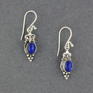Lapis Oval Earrings