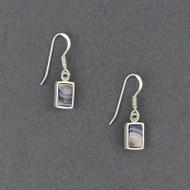 Wampum Rectangle Earrings