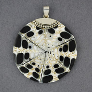 Mosaic Jumbo Black & White Pendant