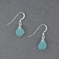Single Drop Sea Glass Earrings