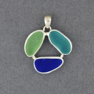 Circle of Life Sea Glass Pendant