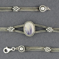 Wampum Antiqued Bracelet