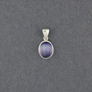 Wampum Small Oval Pendant