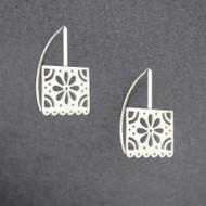 Papel Flower Earrings