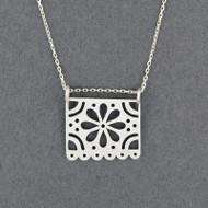 Papel Flower Necklace