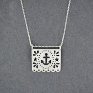 Papel Anchor Necklace