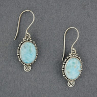 Johanna Larimar Earrings