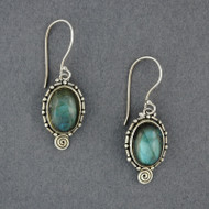 Johanna Labradorite Earrings