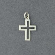 Sterling Silver Open Cross Pendant