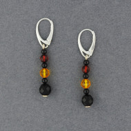Amber Long Beaded Earrings