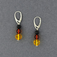 Amber Large Beaded Earrings