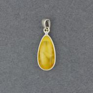 Butterscotch Amber Drop Pendant