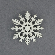 2020 Limited Edition Sterling Silver Snowflake Pendant