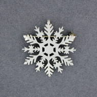 2020 Limited Edition Sterling Silver Snowflake Pin / Pendant
