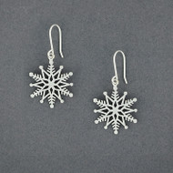 2019 Limited Edition Sterling Silver Snowflake Earring