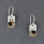 Vertice Dalmation Stone Earrings