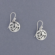 Circle Vine Earrings