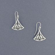 Triangle Vine Earrings