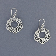 Ornate Flower Earrings