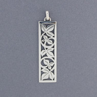 Rectangle Vine Pendant
