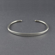 Sterling Silver Thin Traditional Cuff