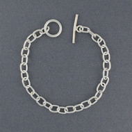 Sterling Silver Traditional Link Bracelet