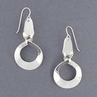Sterling Silver Closed Twisted Earrings