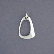Sterling Silver Geometric Pendant