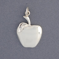 Sterling Silver Apple Pendant