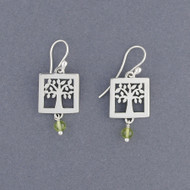 Tree of Life with Stone Earrings