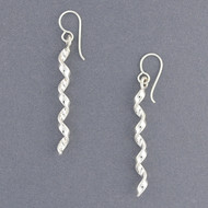 Sterling Silver Twisted Earring