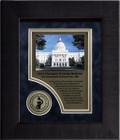 Full Color Layered Framed Award Plaque FR44