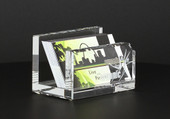 Crystal Glass Business Card Holder  30F