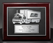 Elegant Truck Driver Safety and service plaques 29PQT