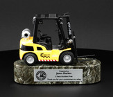 Lift Truck on thick solid marble base 29FL