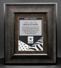 Army Framed Plaque FRUS3-BR